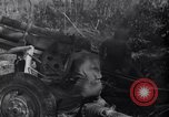 Image of 105mm Howitzer guns Salerno Italy, 1943, second 13 stock footage video 65675030904