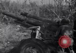 Image of 105mm Howitzer guns Salerno Italy, 1943, second 14 stock footage video 65675030904