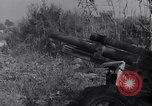 Image of 105mm Howitzer guns Salerno Italy, 1943, second 16 stock footage video 65675030904