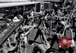 Image of British soldiers doing calisthenics Sicily Italy, 1943, second 25 stock footage video 65675030909