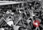 Image of British soldiers doing calisthenics Sicily Italy, 1943, second 27 stock footage video 65675030909