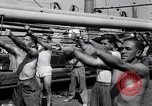 Image of British soldiers doing calisthenics Sicily Italy, 1943, second 30 stock footage video 65675030909