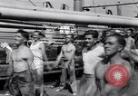 Image of British soldiers doing calisthenics Sicily Italy, 1943, second 32 stock footage video 65675030909
