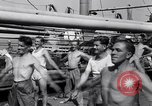 Image of British soldiers doing calisthenics Sicily Italy, 1943, second 33 stock footage video 65675030909