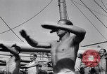 Image of British soldiers doing calisthenics Sicily Italy, 1943, second 36 stock footage video 65675030909