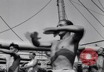 Image of British soldiers doing calisthenics Sicily Italy, 1943, second 38 stock footage video 65675030909