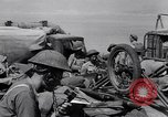 Image of British landing at Salerno Salerno Italy, 1943, second 19 stock footage video 65675030910
