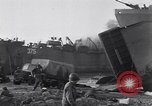 Image of British soldiers landing Salerno Italy, 1943, second 9 stock footage video 65675030911