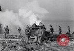 Image of British soldiers landing Salerno Italy, 1943, second 52 stock footage video 65675030911