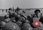 Image of US Army landing at Red Beach Paestum Italy, 1943, second 25 stock footage video 65675030918
