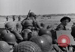 Image of US Army landing at Red Beach Paestum Italy, 1943, second 26 stock footage video 65675030918