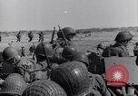 Image of US Army landing at Red Beach Paestum Italy, 1943, second 27 stock footage video 65675030918