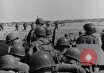 Image of US Army landing at Red Beach Paestum Italy, 1943, second 28 stock footage video 65675030918