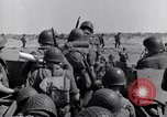 Image of US Army landing at Red Beach Paestum Italy, 1943, second 33 stock footage video 65675030918