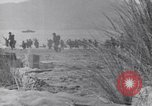 Image of US Army landing at Red Beach Paestum Italy, 1943, second 38 stock footage video 65675030918