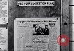 Image of Ford Suggestion Box campaign Dearborn Michigan USA, 1950, second 58 stock footage video 65675030966