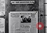 Image of Ford Suggestion Box campaign Dearborn Michigan USA, 1950, second 59 stock footage video 65675030966