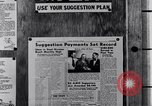 Image of Ford Suggestion Box campaign Dearborn Michigan USA, 1950, second 60 stock footage video 65675030966