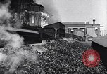 Image of Ford railcars with coal Dearborn Michigan USA, 1918, second 15 stock footage video 65675030976