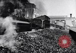Image of Ford railcars with coal Dearborn Michigan USA, 1918, second 22 stock footage video 65675030976