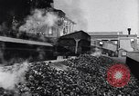 Image of Ford railcars with coal Dearborn Michigan USA, 1918, second 23 stock footage video 65675030976