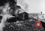 Image of Ford railcars with coal Dearborn Michigan USA, 1918, second 30 stock footage video 65675030976