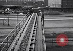 Image of coke screening and transport by Ford Dearborn Michigan USA, 1928, second 52 stock footage video 65675030984