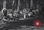 Image of family camping United States USA, 1919, second 3 stock footage video 65675030988
