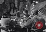 Image of family camping United States USA, 1919, second 10 stock footage video 65675030988