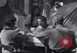 Image of family camping United States USA, 1919, second 11 stock footage video 65675030988