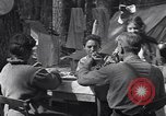 Image of family camping United States USA, 1919, second 12 stock footage video 65675030988