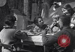 Image of family camping United States USA, 1919, second 13 stock footage video 65675030988