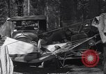 Image of family camping United States USA, 1919, second 18 stock footage video 65675030988