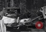 Image of family camping United States USA, 1919, second 23 stock footage video 65675030988