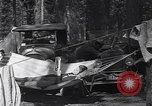 Image of family camping United States USA, 1919, second 28 stock footage video 65675030988