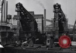 Image of Unloading ore at Ford plant Dearborn Michigan USA, 1929, second 31 stock footage video 65675030994