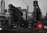 Image of Unloading ore at Ford plant Dearborn Michigan USA, 1929, second 33 stock footage video 65675030994