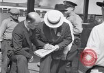Image of UAW organizers Dearborn Michigan USA, 1938, second 36 stock footage video 65675031000