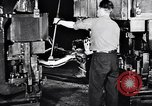 Image of Ford car chassis and cabin fabrication Dearborn Michigan USA, 1937, second 33 stock footage video 65675031006