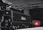 Image of Ford car chassis and cabin fabrication Dearborn Michigan USA, 1937, second 44 stock footage video 65675031006