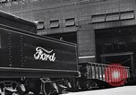Image of Ford car chassis and cabin fabrication Dearborn Michigan USA, 1937, second 46 stock footage video 65675031006