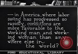 Image of Labor saving equipment United States USA, 1920, second 52 stock footage video 65675031022