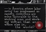 Image of Labor saving equipment United States USA, 1920, second 56 stock footage video 65675031022