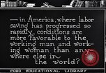Image of Labor saving equipment United States USA, 1920, second 57 stock footage video 65675031022