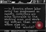 Image of Labor saving equipment United States USA, 1920, second 58 stock footage video 65675031022
