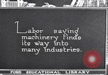 Image of Labor saving equipment United States USA, 1920, second 59 stock footage video 65675031022