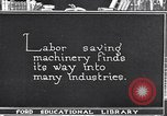 Image of Labor saving equipment United States USA, 1920, second 60 stock footage video 65675031022