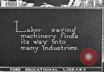 Image of Labor saving equipment United States USA, 1920, second 61 stock footage video 65675031022