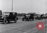 Image of Parade of new Ford Motor Company cars United States USA, 1925, second 24 stock footage video 65675031039