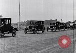 Image of Parade of new Ford Motor Company cars United States USA, 1925, second 53 stock footage video 65675031039